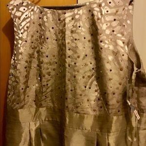 Classy Gold Dress